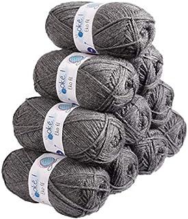 Oké !- Pelote de laine-Lot 10 pelotes de laine Ekofil-