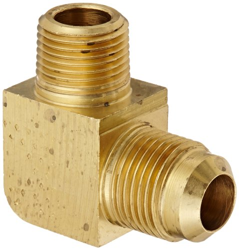 Midland 2503-4-4 Shapes Steel Flare 37degree Male 45degree Elbow 7//16-20 JIC Thread x 1//4 Male Pipe