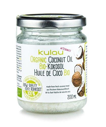 KULAU Bio-Kokosöl RAW 200 ml Rohkostqualität