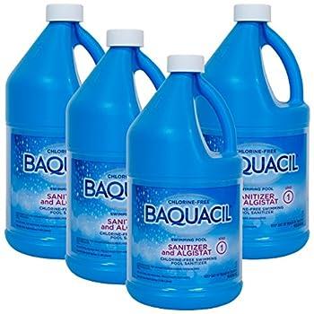 Baquacil Sanitizer & Algistat  .5 gal   4 Pack