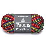 Patons 455900 Canadiana Yarn - Ombres, Rainbow