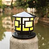 Suave, no deslumbrante Column headlight Columna Faro - jardín del paisaje de la...