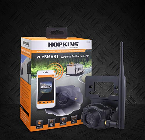 Hopkins Towing Solution 50050 VueSMART Trailer Camera VueSMART Trailer Camera