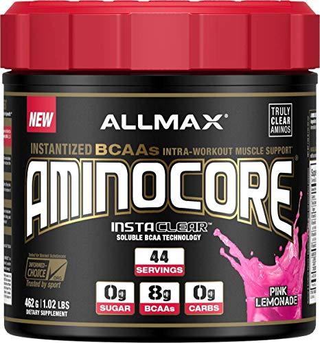 ALLMAX Nutrition Aminocore BCAAs, Pink Lemonade, 462g