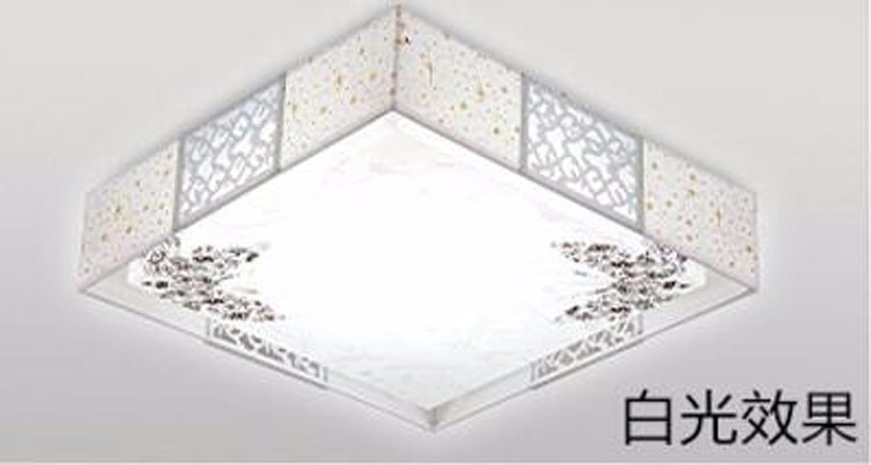 Plafonniers liwenlong Lampe de plafond Led salon chambre à coucher 48  étude de 48 cm, la lumière blanche