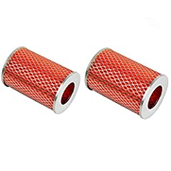 This item including 2 Piece Go-Kart Element 150cc Air Filter Air Filter replace for Carter 5133021 513-3021; replace for Hammerhead 150SS 150GT GTS150, Part # 6.000.151. Keeps crud, gunk & dust out of the carburetor. Easy to replace and install. Warr...