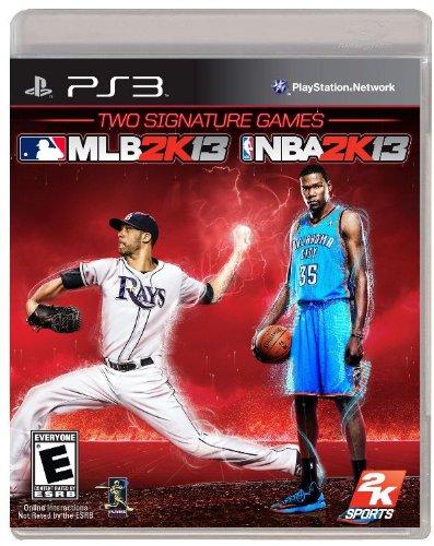 2K Sports Combo Pack - MLB2K13 NBA2K13 - Playstation 3