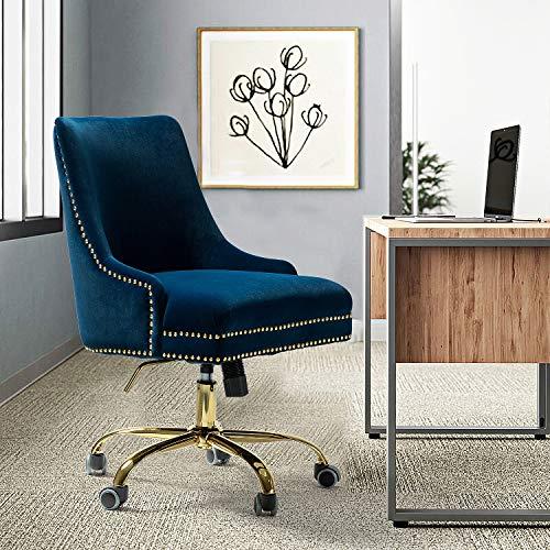 Bella Velvet Fabric Task Chair
