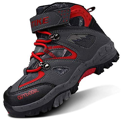 [VITIKE] スノーブーツ レディース 防水 通気性 防寒靴 スノーシューズ 防滑 軽量 アウトドアシューズ ウィンターブーツ 綿雪靴 暖かい 滑り止め 登山靴 耐磨耗 人気 トレッキングシューズ 冬 幅広 ハイテックゴアテックス 23.0cm