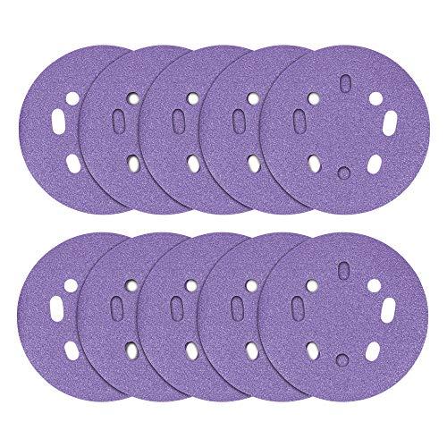 Trend AB/125/180A Discos de lijado orbital aleatorios, 125mm 180 grit