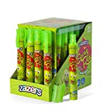 Zazers Candy Spray Pen Green Apple Flavor Candy Gluten Free Candy Novelty Candy and Kosher Candy 20 ml each Bulk Candy Pack of 24 (Green Apple)
