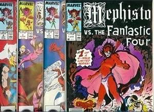 Mephisto vs. #1-#4 set / X-Men, Avengers, FF, Marvel Comics
