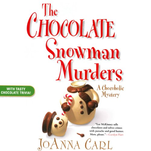 The Chocolate Snowman Murders audiobook cover art