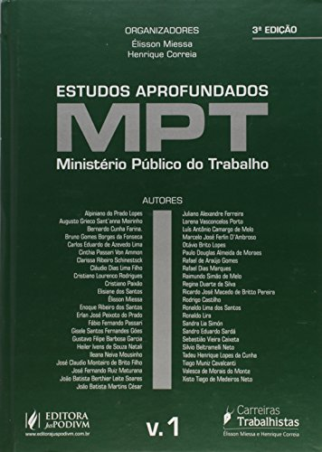 Estudos Aprofundados do Mpt - V.1 3/15