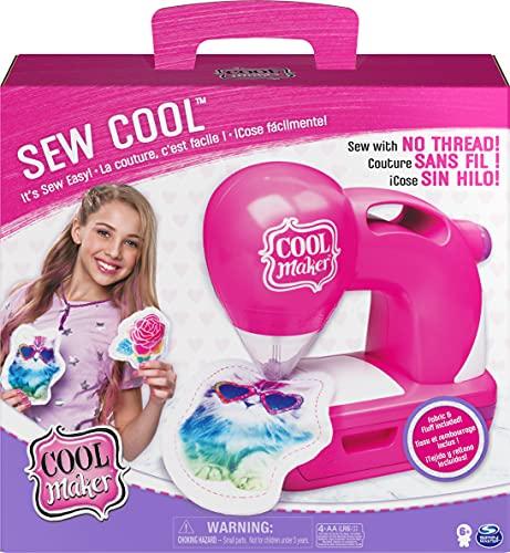 Cool Maker Sew Cool Kinder-Nähmaschine für Nähen ohne Faden
