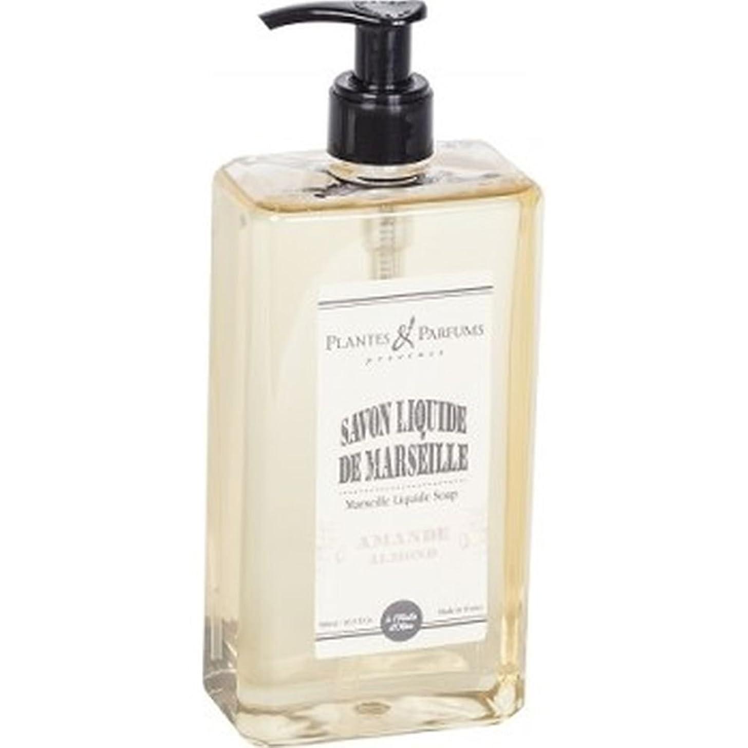実現可能性有名人良性Plantes&Parfums [プランツ&パルファム] マルセイユリキッドソープ アーモンド