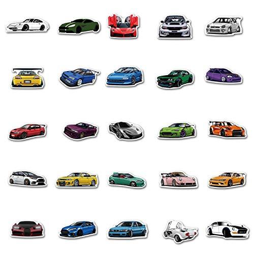 LMY 100 unids Carto on SPO RTS coche se dan coll ection patrón graffiti stic kers coche motor ciclo skatebo ard equipaje pegatinas a prueba de agua