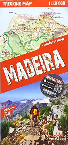 Madeira 1: 40.000 plastificado (trekking map)