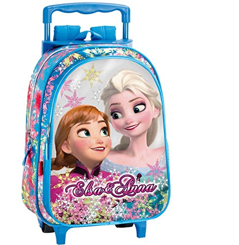 Disney Sac à roulettes Frozen Reine des neiges 37cm Maternelle