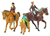 Britains 1:32 Horses and Riders Animal Figures, Collectable Toy Farm Accessory for Children, Farm Set Accessory Compatible with 1:32 Scale Farm Animals, Suitable for Collectors & Children 3 Years +