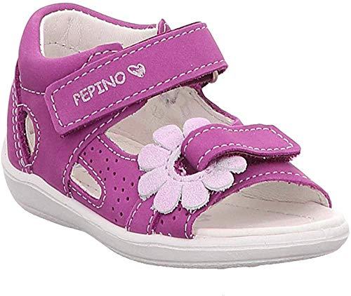 RICOSTA Mädchen Silvi Geschlossene Sandalen, Pink (Candy 341), 24 EU