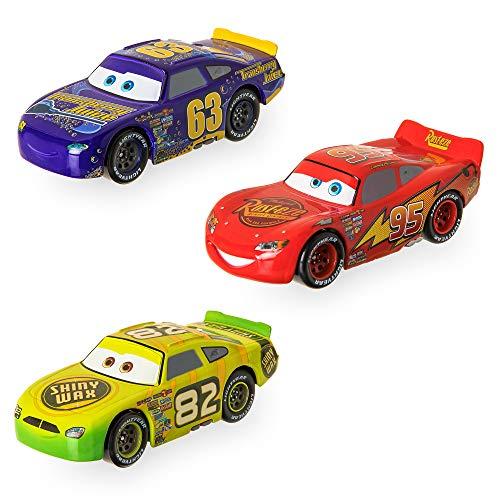 Disney Cars ''Old-Gen'' Racers Pullback Die Cast Set - 3-Pack