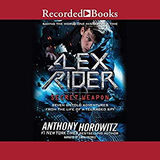 Alex Rider audiobook cover art