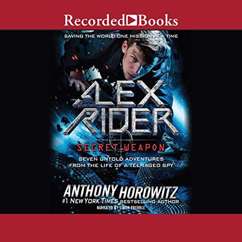 Alex Rider audiobook cover art