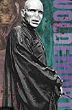 Trends International Wizarding World: Harry Potter-Voldemort with Wand Wall Poster, 22.375' x 34', Unframed Version