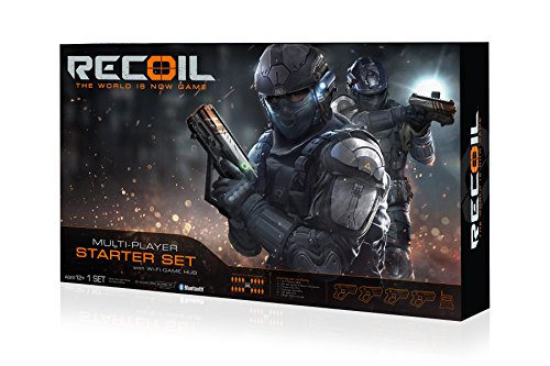 Recoil Laser Combat - 4-Player Start Set (Amazon Exclusive)