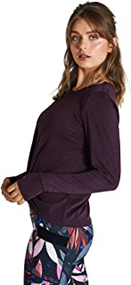 Rockwear Activewear Women's Winter Bloom Twist Front Top BlackBerry 12 from Size 4-18 for