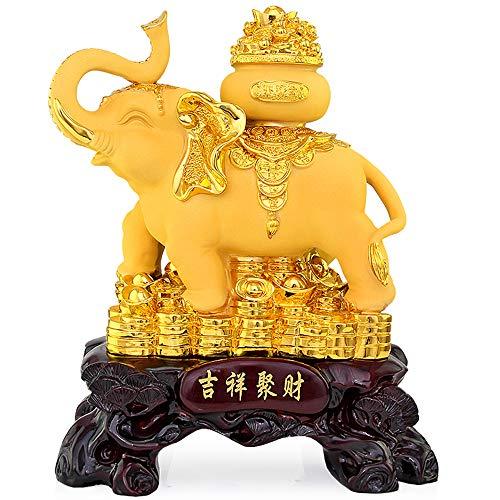 Withere Adornos De Feng Shui, Adornos De Elefante, Decoraciones De Resina De Feng Shui, Gabinete De TV De La Sala De Recepción, Regalos De Cumpleaños