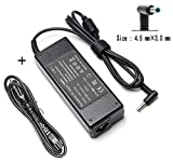 90W AC Adapter Laptop Charger Compatible for HP Envy TouchSmart M6 M7 Series m6-w103dx m6-w101dx m6-k010dx m6-aq103dx m6-aq105dx m6-aq003dx m7-k211dx m7-u109dx Sleekbook Notebook PC Power Supply Cord