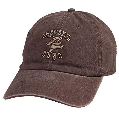 Ripple Junction Grateful Dead Dancing Bears Dad Hat (Brown)