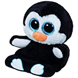 Ty Peek A Boo Phone Holder with Screen Cleaner Bottom Penni Penguin