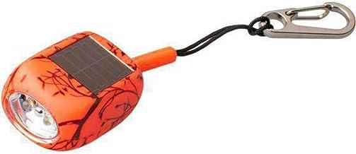Rubytec - mini-zaklamp Kao Clip led solar 4,6 cm ABS oranje - Oranje,Bruin