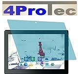 4ProTec I 2 Stück GEHÄRTETE ANTIREFLEX Displayschutzfolie für Odys Gambit 10 Plus 3G Bildschirmschutzfolie