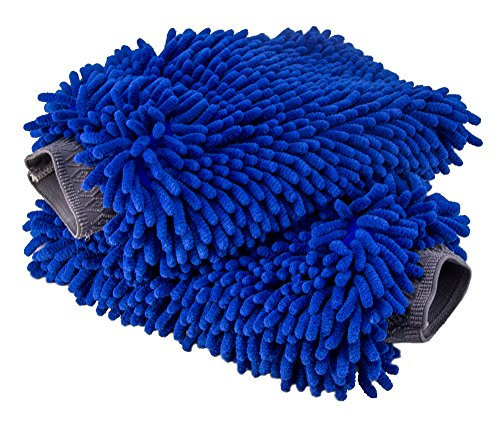Relentless Drive Ultimate Car Wash Mitt - 2 Pack...