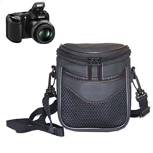 BV & Jo - Funda impermeable para cámara de fotos Nikon Coolpix P7800 P7700 P7100 L820 L810 L620 L610 L320 L310 L120,P550,P520,P510, Nikon 1 J1 J2 J3 S1 V1 V2, Samsung WB100, Pentax X5