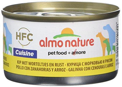 almo nature Hfc Cuisine Wet Dog Food, 95g, Confezione da 24
