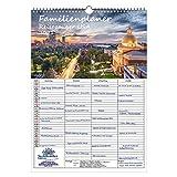 Planificador familiar – Reisezauber USA DIN A3 Calendario para 2021 USA Ciudad y país Set de regalo: además 1 tarjeta de felicitación y 1 tarjeta de Navidad – Malma magia