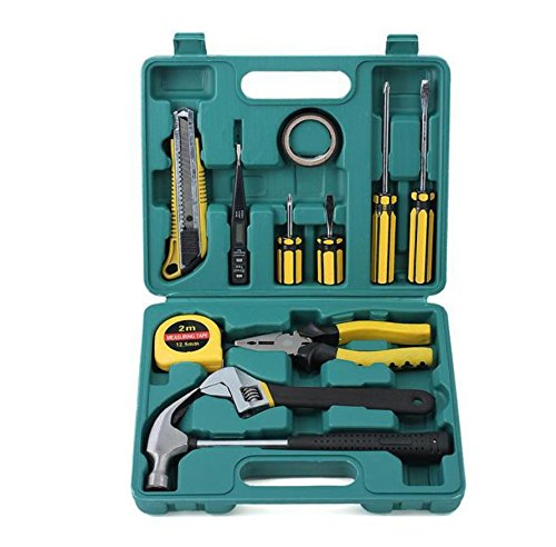 AMYMGLL Boîte à outils d'urgence voiture 11 pièces kit combinaison Ensemble kit de réparation automobile fournitures automobiles poids d'environ 1,6 kg