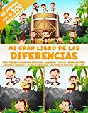 Mi Gran Libro de las Diferencias - 40 páginas - más de 300 diferencias - Libro de juegos: encuentra las diferencias - Juego de los 7 errores - Dibujos ... - para niños de 5 a 8 años, niña y niño