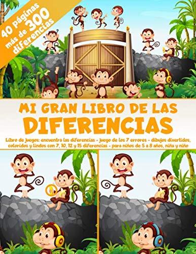 Mi Gran Libro de las Diferencias - 40 páginas - más de...