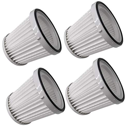 S SMILEFIL 4 Pack Vacuum Cleaner Filters Compatible with Black & Decker Flex Vac FHV1200. Compare to Part # FVF100 # 90529367