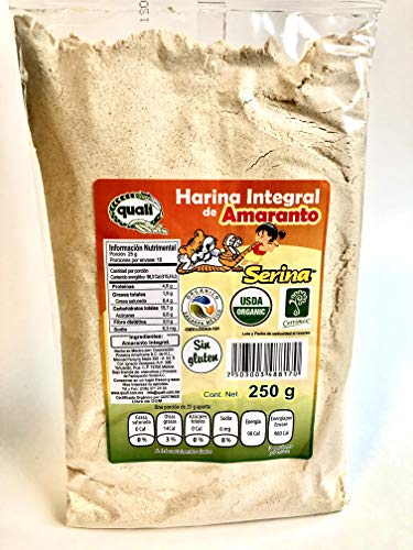 Amaranth Flour Directly from Ancient Aztec Lands in Mexico, 250gm from Quali