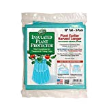 Gardeneerby Dalen Season Starter–Early Season Plant Protector–Cold Weather Frost Guard-Easy Fill Shape for Optimal Planting -18' x 17'– Made in The USA.