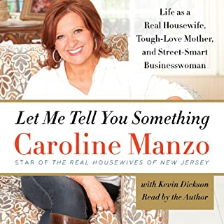 Let Me Tell You Something audiobook cover art