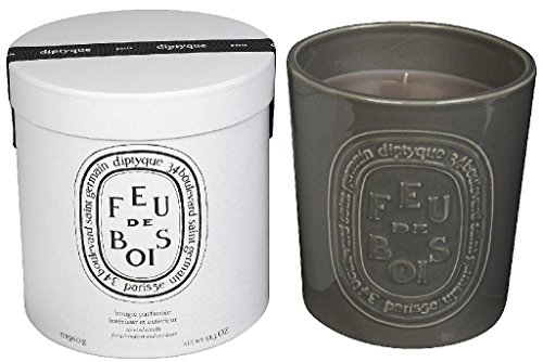 Diptyque Feu de bois Indoor/Outdoor Ceramic Candle-51.3 oz