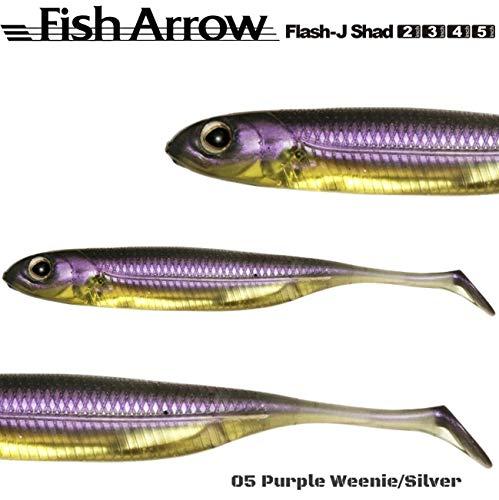 Fish Arrow Flash J Split 4/Caoutchouc Leurre L
